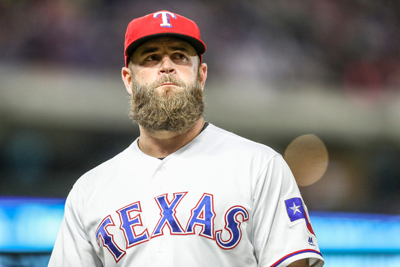 MLB: APR 29 Angels at Rangers